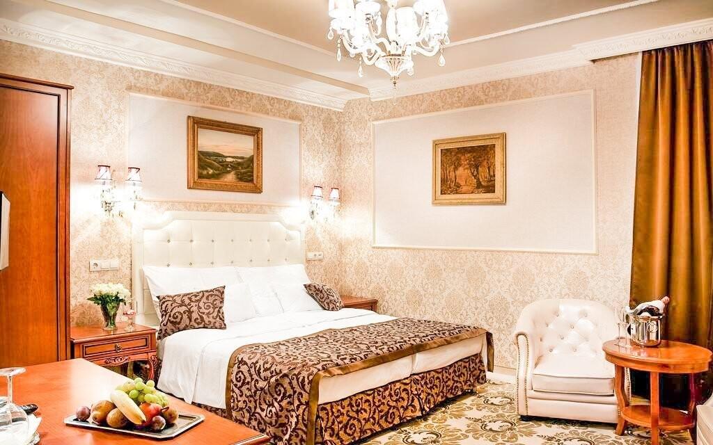 Pokoj Superior za příplatek v Hotelu Capitulum Maďarsko