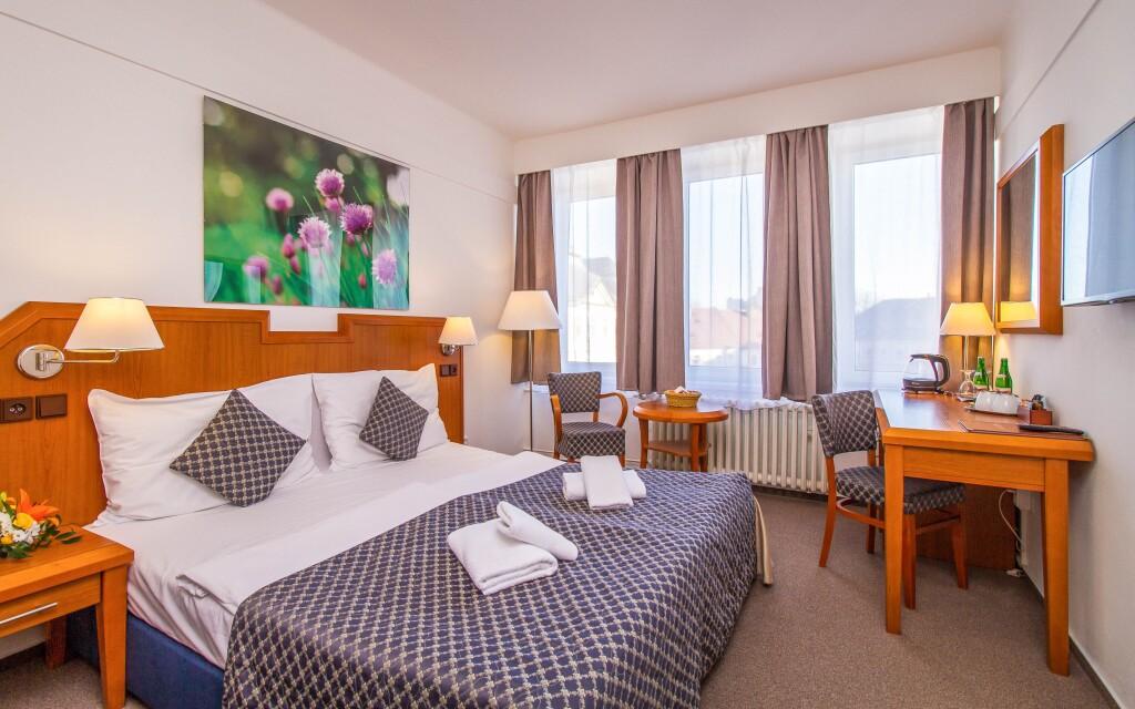Komfortní pokoj, Hotel Mědínek ***, Kutná Hora