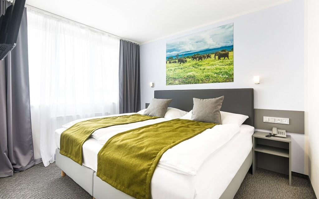 Jeden z tematických pokojů, Hotel Atlantis ***
