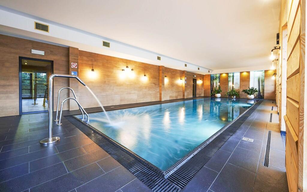 Luxusné wellness, bazén, Cristal Resort Szklarska Poreba