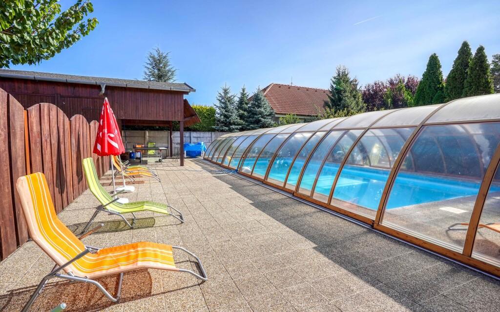 Bazén, Penzión Žitava blízko Podhájskej