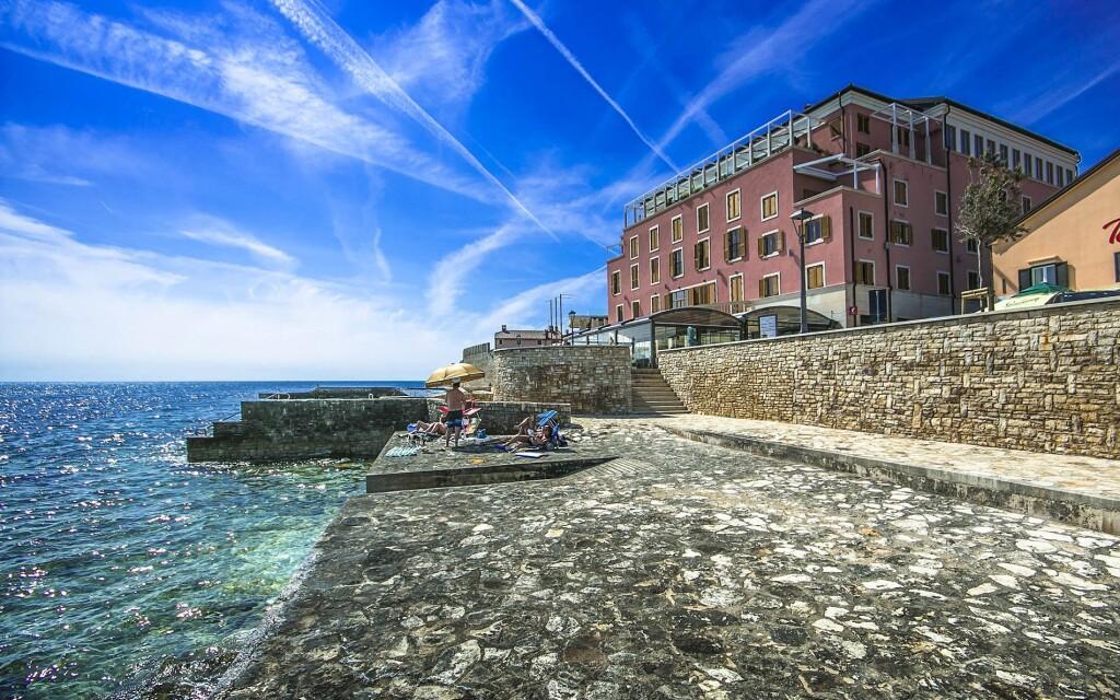 Apartmány Rotonda Inn hned u moře, Istrie