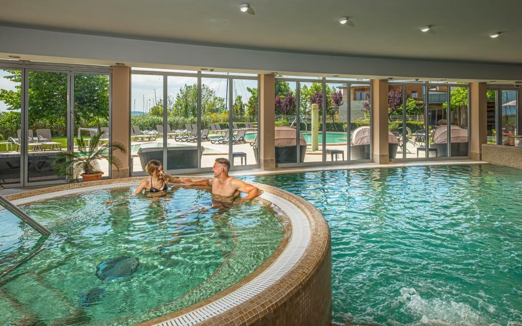 Luxusné wellness, Hotel Silverine Lake Resort, Balaton