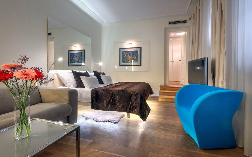 Dvoulůžkový pokoj Standard, Hotel Three Storks *****, Praha