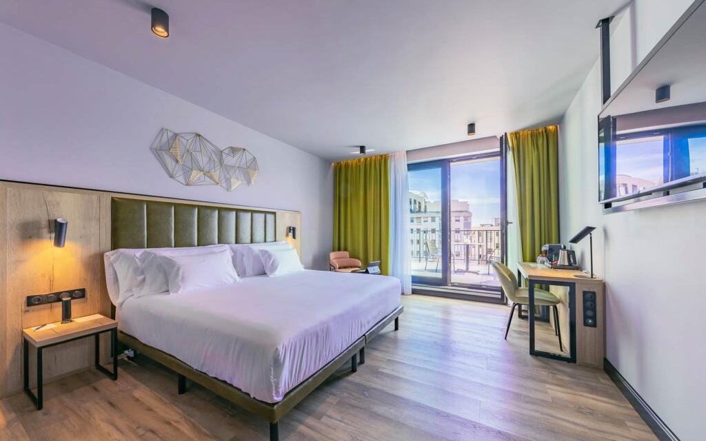 Izba Deluxe, Hotel Barceló Budapest ****