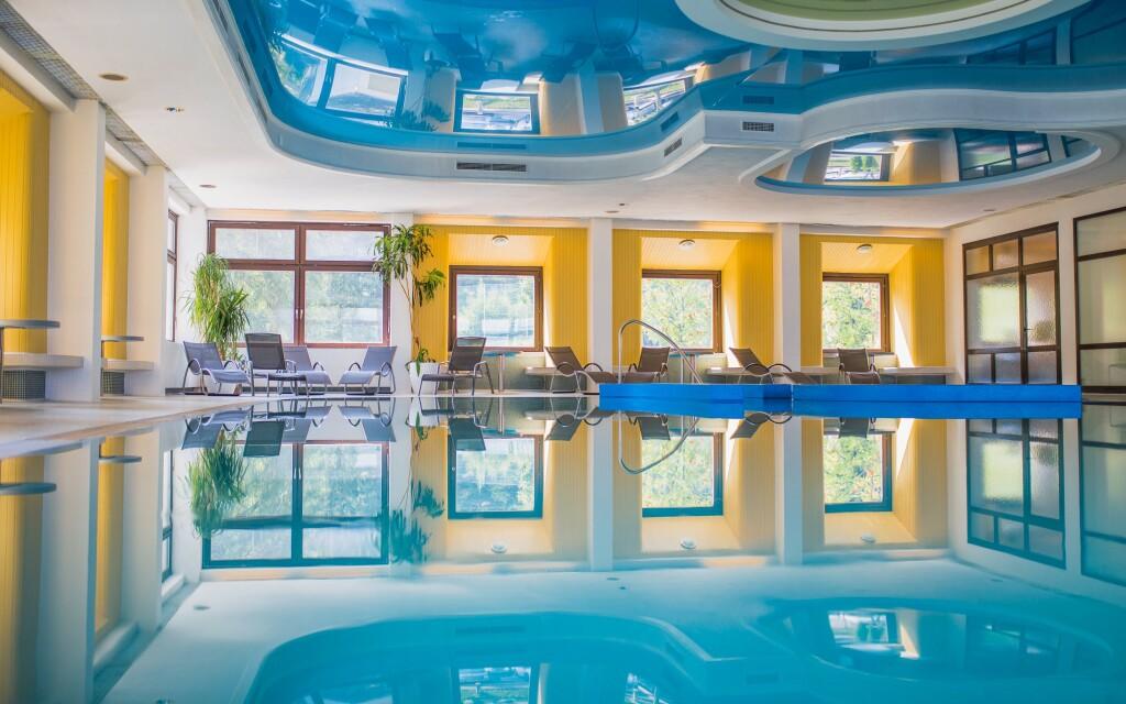 Wellness, bazén, Sporthotel am Semmering ***, Rakúsko