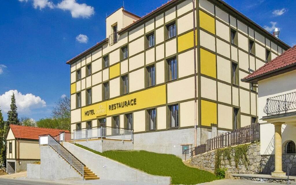 Hotel Olberg *** u Moravského krasu, jižní Morava