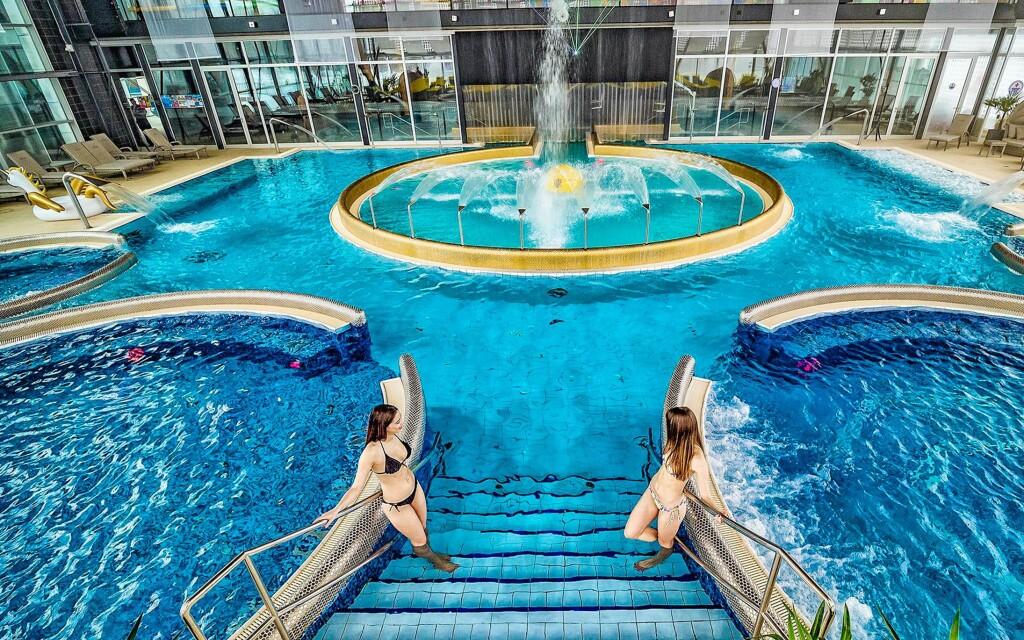 Luxus élményfürdő és wellnes, AquaCity Poprad