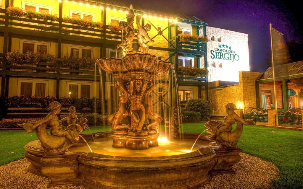 Luxusní Grand Boutique Hotel Sergijo ****, Piešťany
