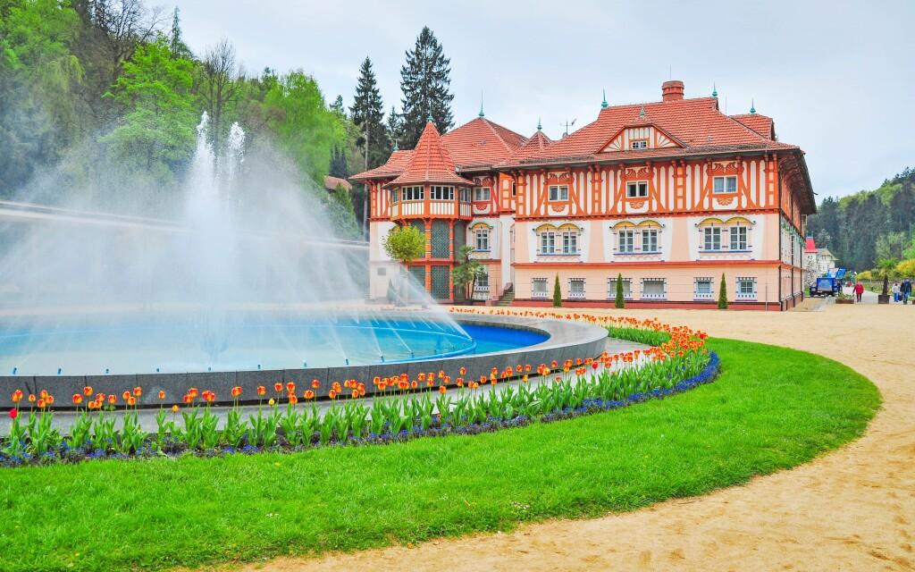 Luhačovice sú obľúbené kúpeľné mesto