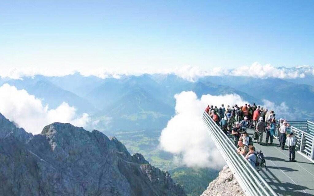 Úžasná alpská panoramata