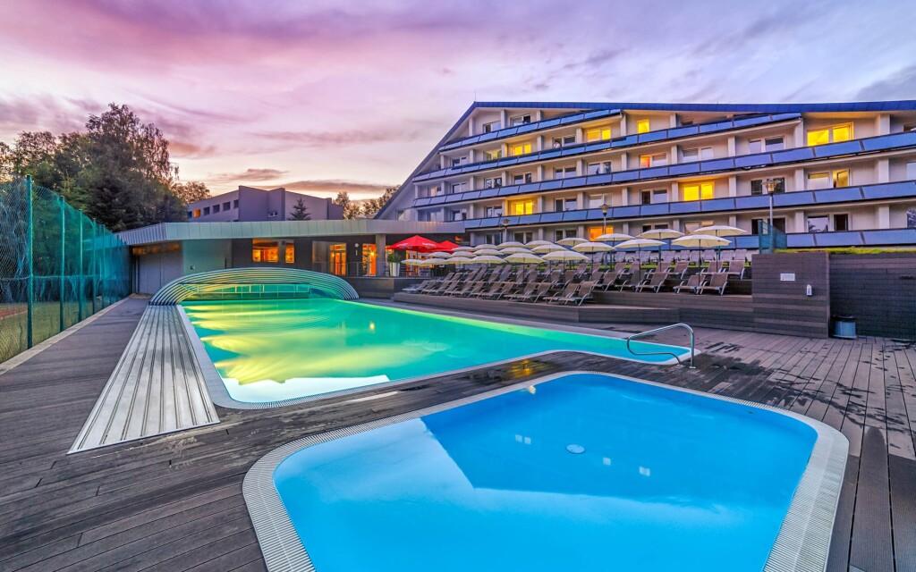 Hotel Jezerka ****, CHKO Železné hory