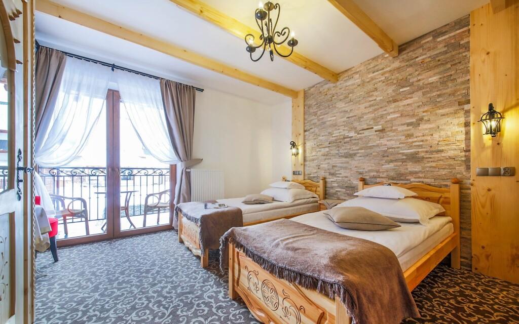 Štýlové izby, Willa Grand Karpatia, poľské Tatry