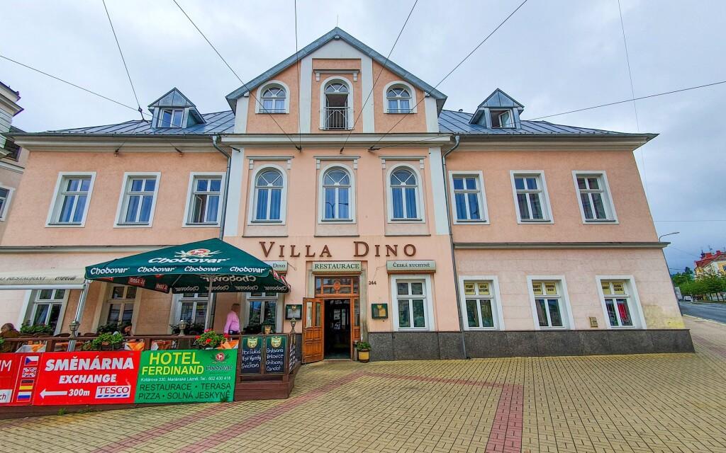 Hotel Villa Dino *** nájdete v Mariánskych Lázňach