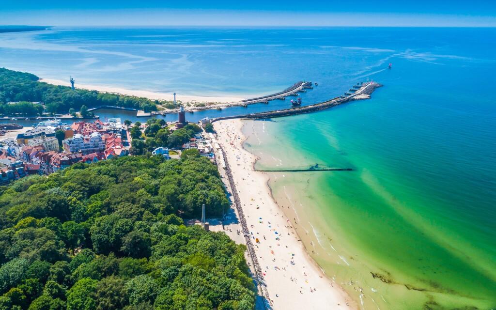 Polské vzdušné lázně u Baltského moře, Kołobrzeg