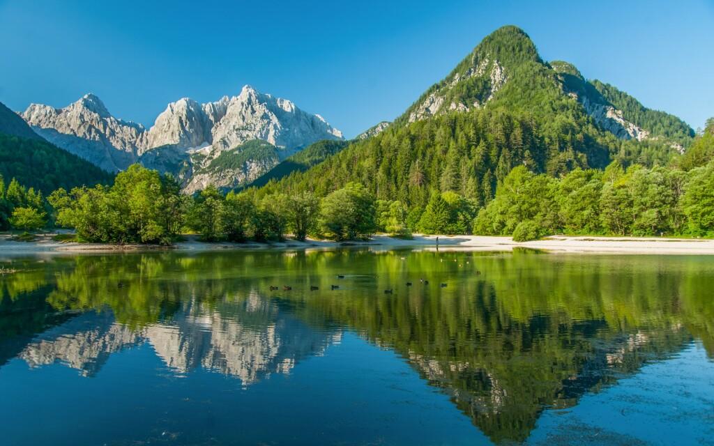 Krásna príroda v Slovinsku, Národný park Triglav