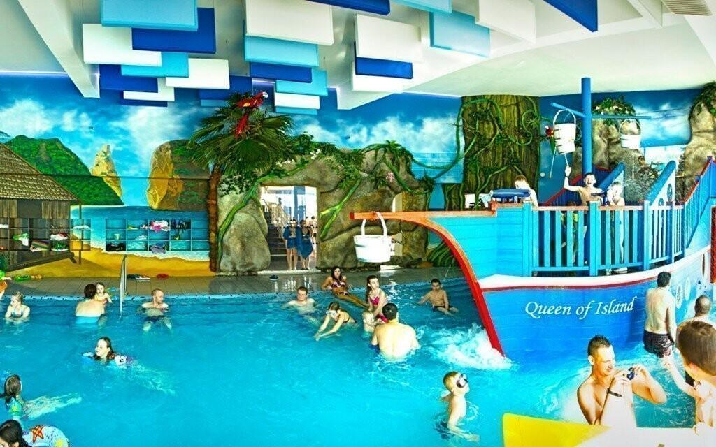 Vyrazit můžete také do několika aquaparků, například do Popradu