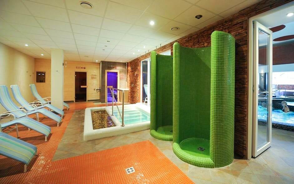 Oddýchnuť si môžete aj v hotelovom wellness