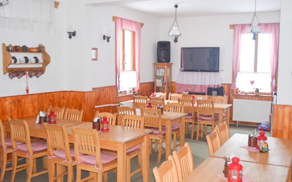 Restaurace, polopenze, Hotel Eduard, Rokytnice, Orlické hory