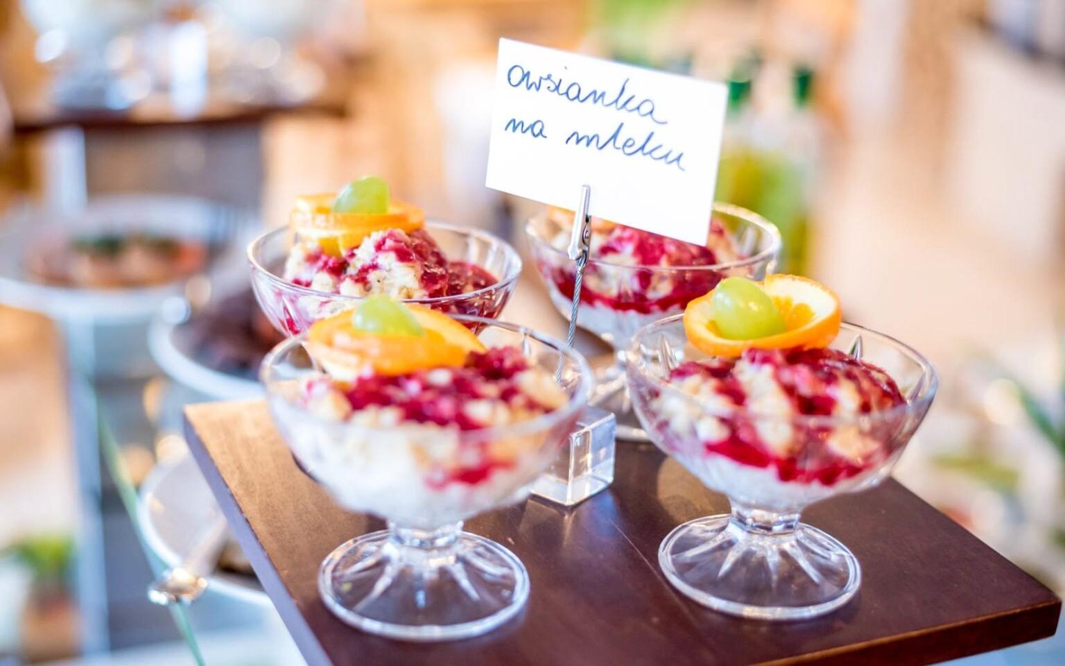 Raňajky formou bufetu, Pensjonat Orlicka Skała ***