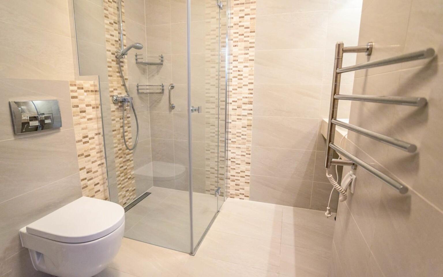 Moderná kúpeľňa, Pensjonat Orlicka Skała ***
