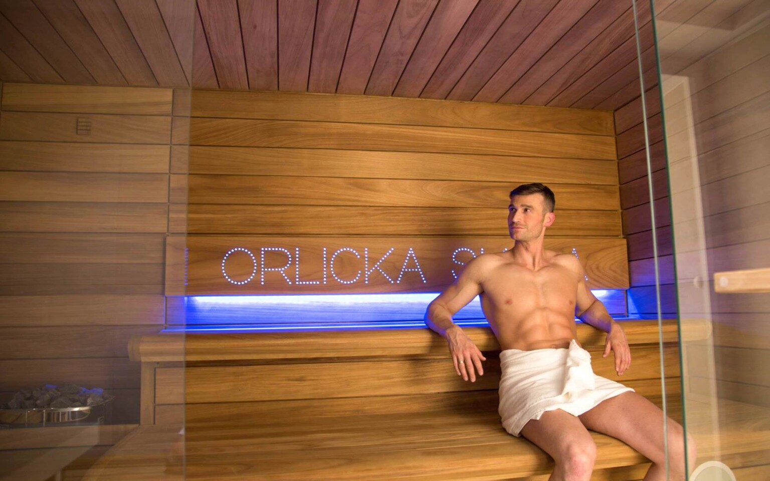 Fínska sauna, Pensjonat Orlicka Skała ***, Poľsko