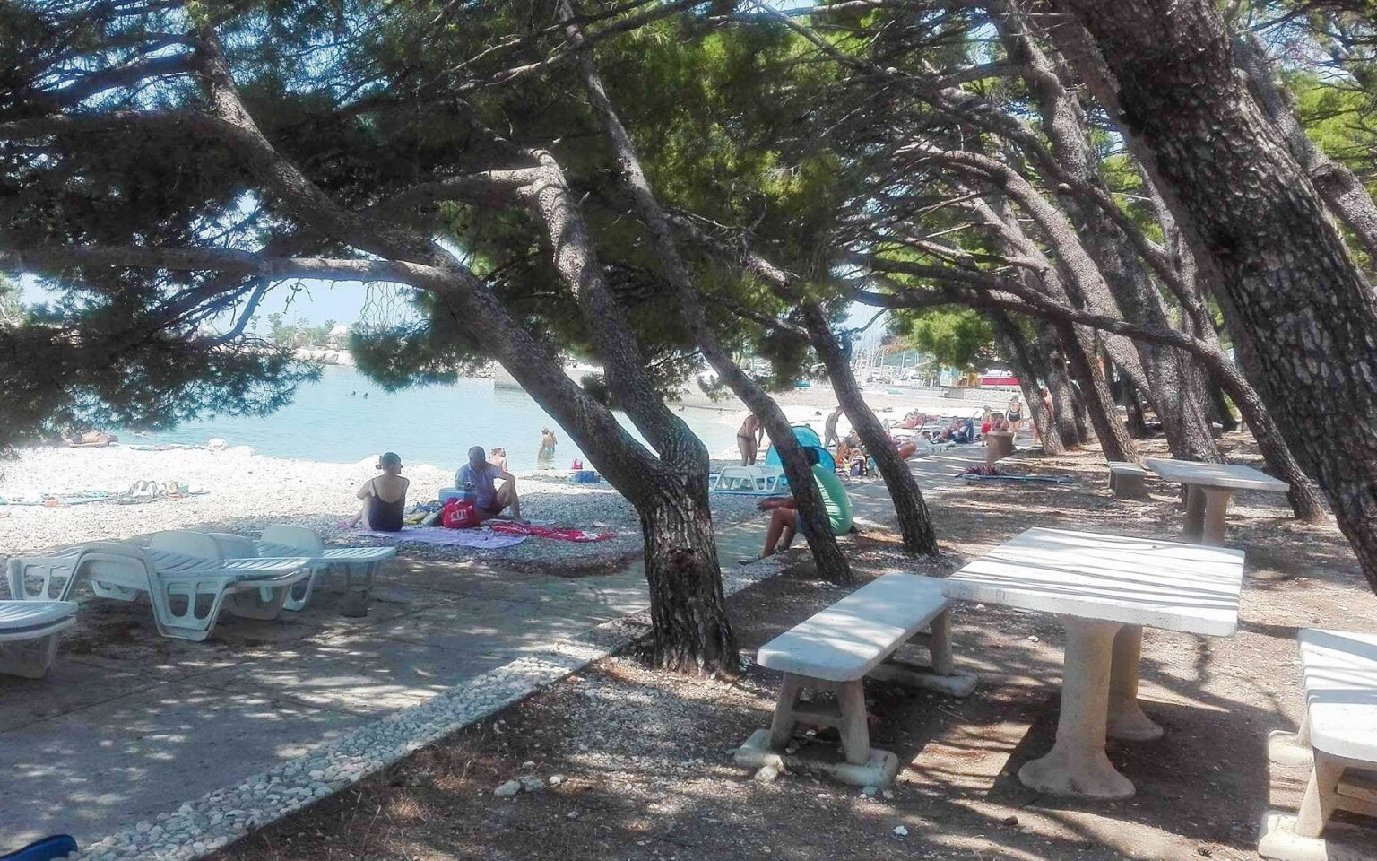 Vyrazte na pláž v letovisku Krkavica