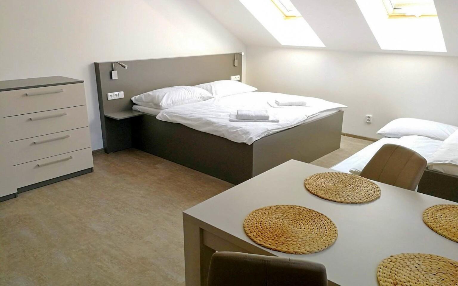Moderně zařízené Apartmány Broušek v Moravském krasu