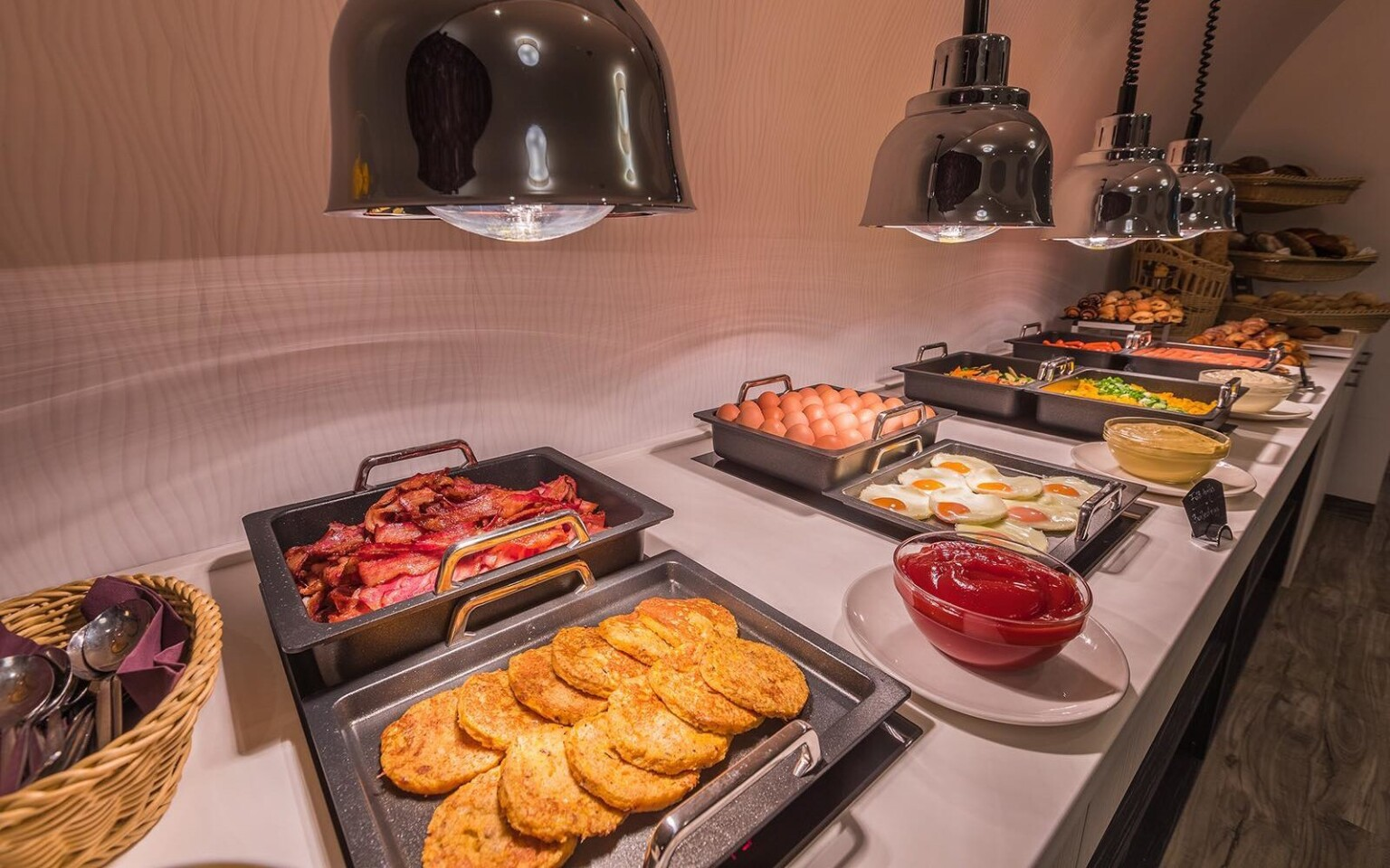 Bohaté raňajky v Hoteli President Exclusive Boutique ****+