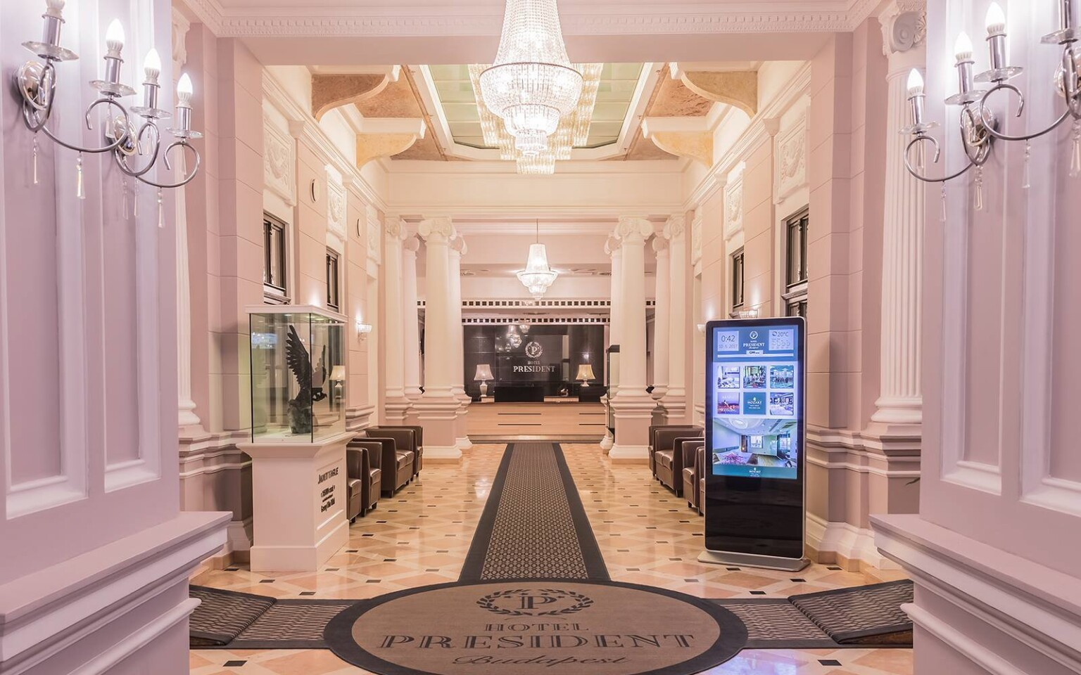 Elegantný Hotel President Exclusive Boutique ****+ Budapešť