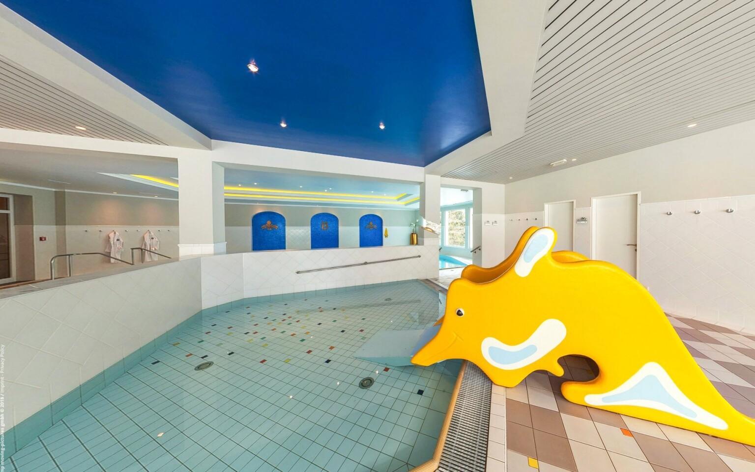 Detský bazén v Aparthoteli Bellevue **** Bad Gastein