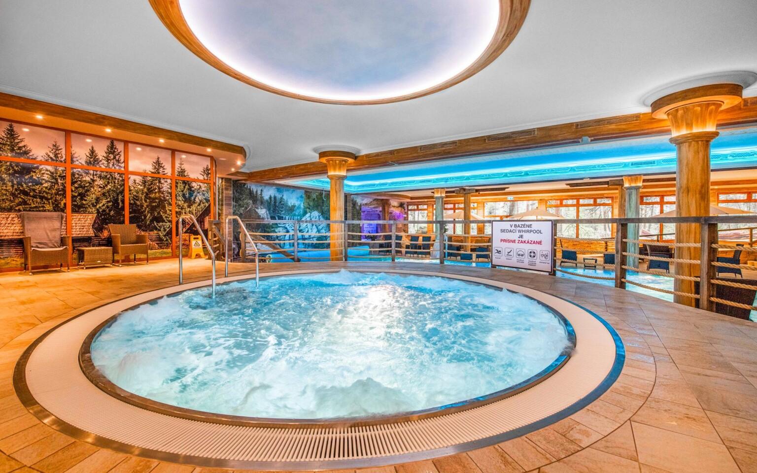 Wellness s vírivkou, Hotel Sport Aqua ***, Slovensko