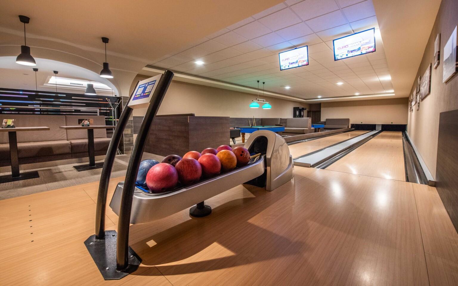 Bowling so zľavou, Hotel Sport Aqua ***, Slovensko