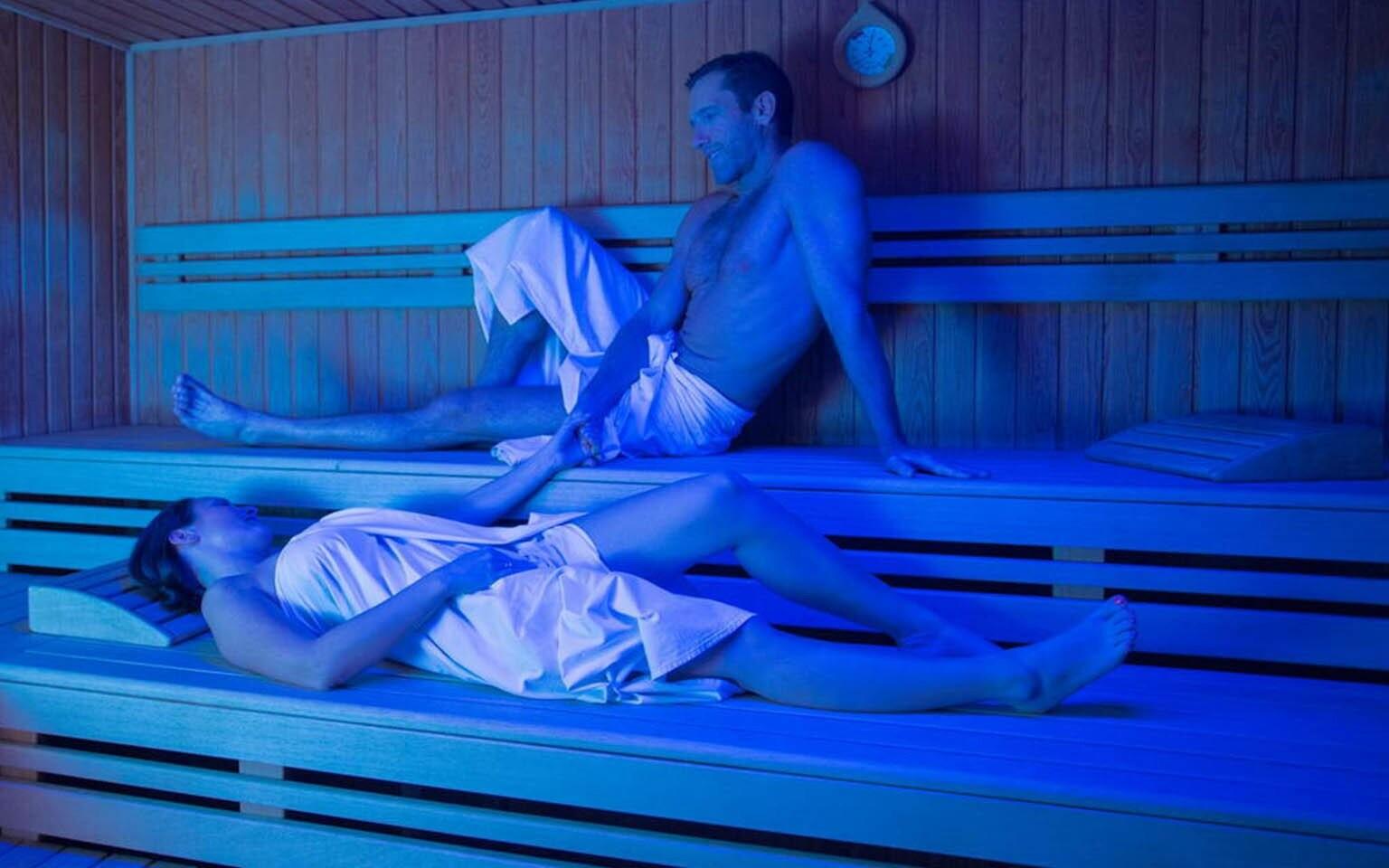 Využite tiež saunu, Gotthard Therme Hotel