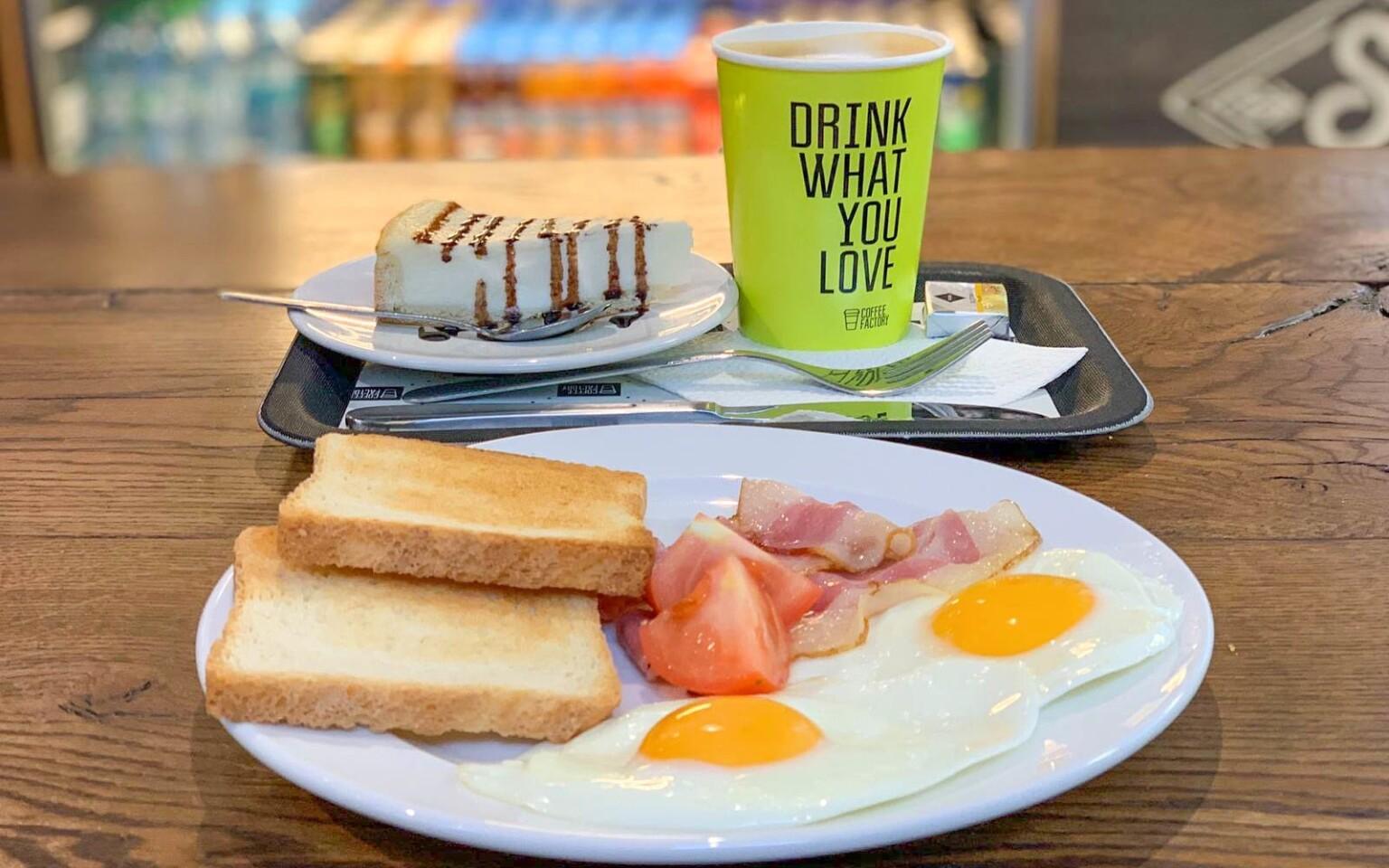 Těšte se na vynikající anglickou snídani