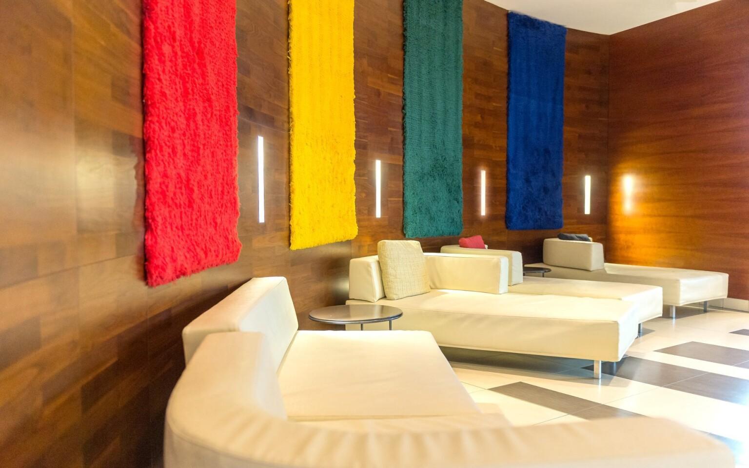 Luxusní interiéry hotelu, Park Inn Sárvár