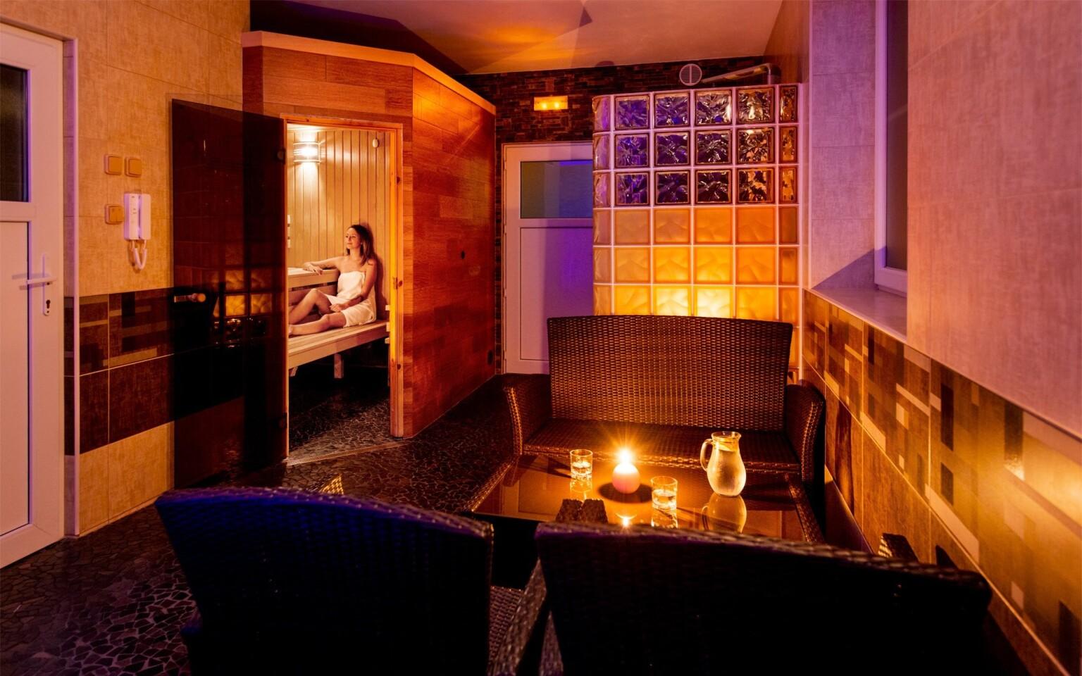 Privátní wellness, sauna, Hotel Bon, Tanvald, Jizerky
