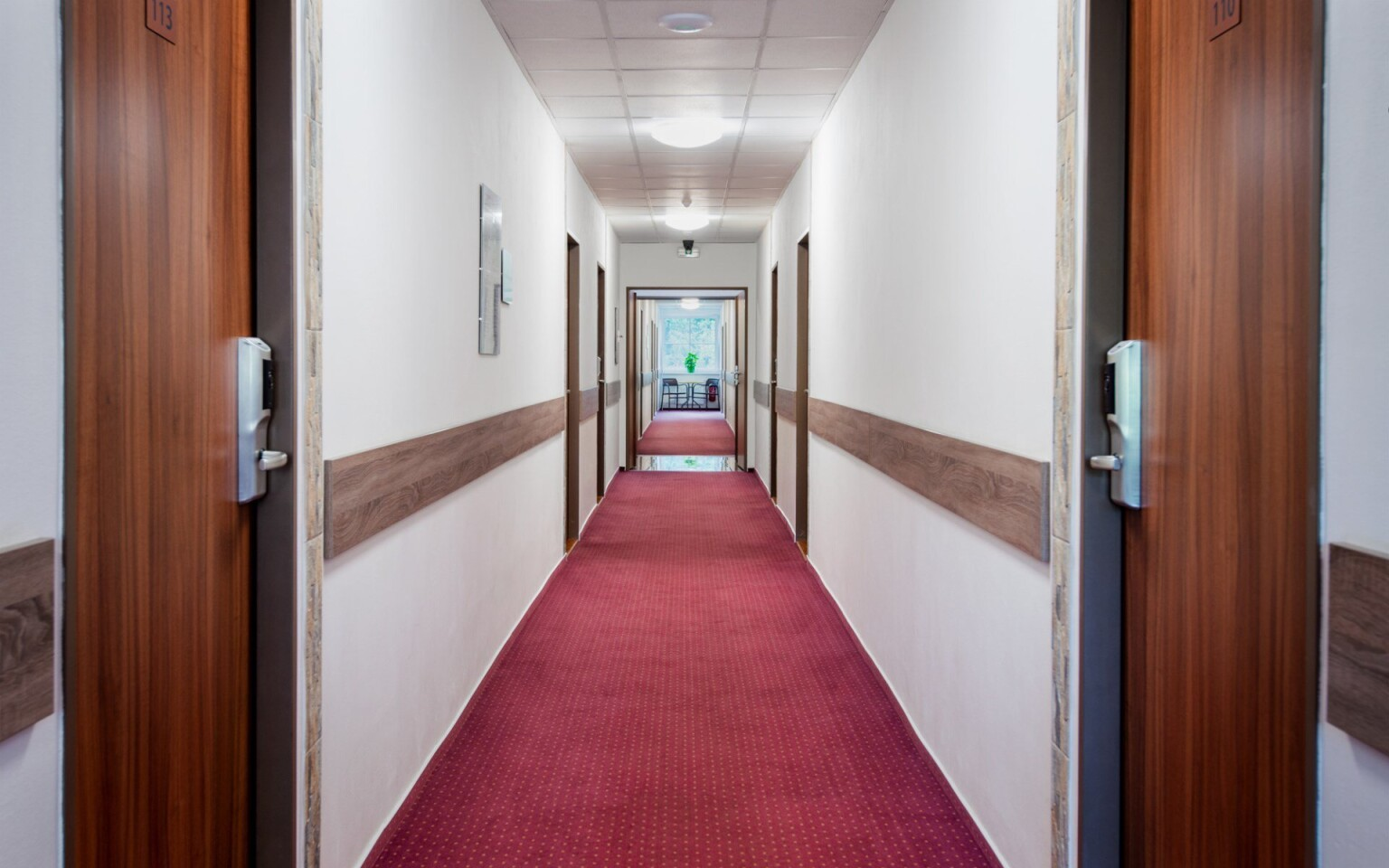 Interiér, chodba, Hotel Bon, Tanvald