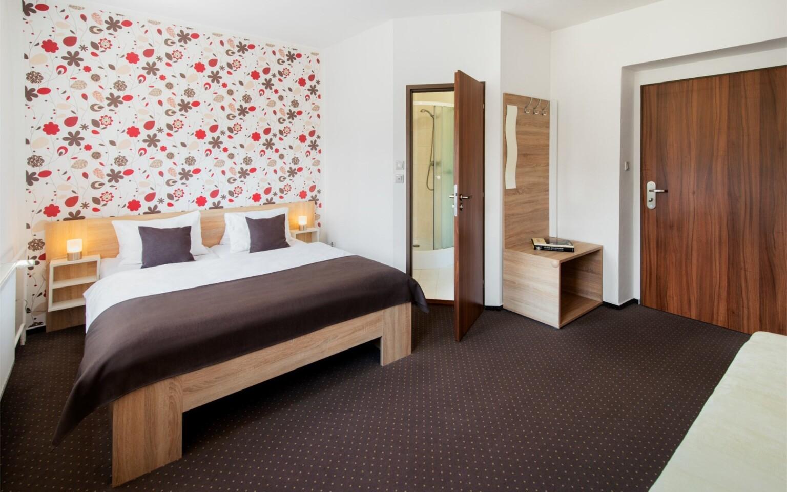 Moderní pokoje, Hotel Bon, Tanvald, Jizerské hory