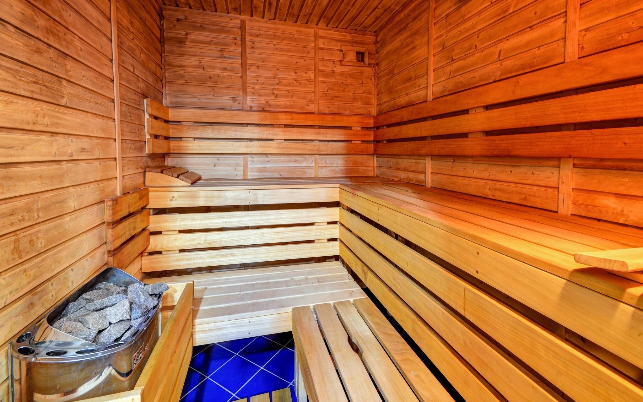 Finská sauna, Wellness Hotel Iris *** Pavlov