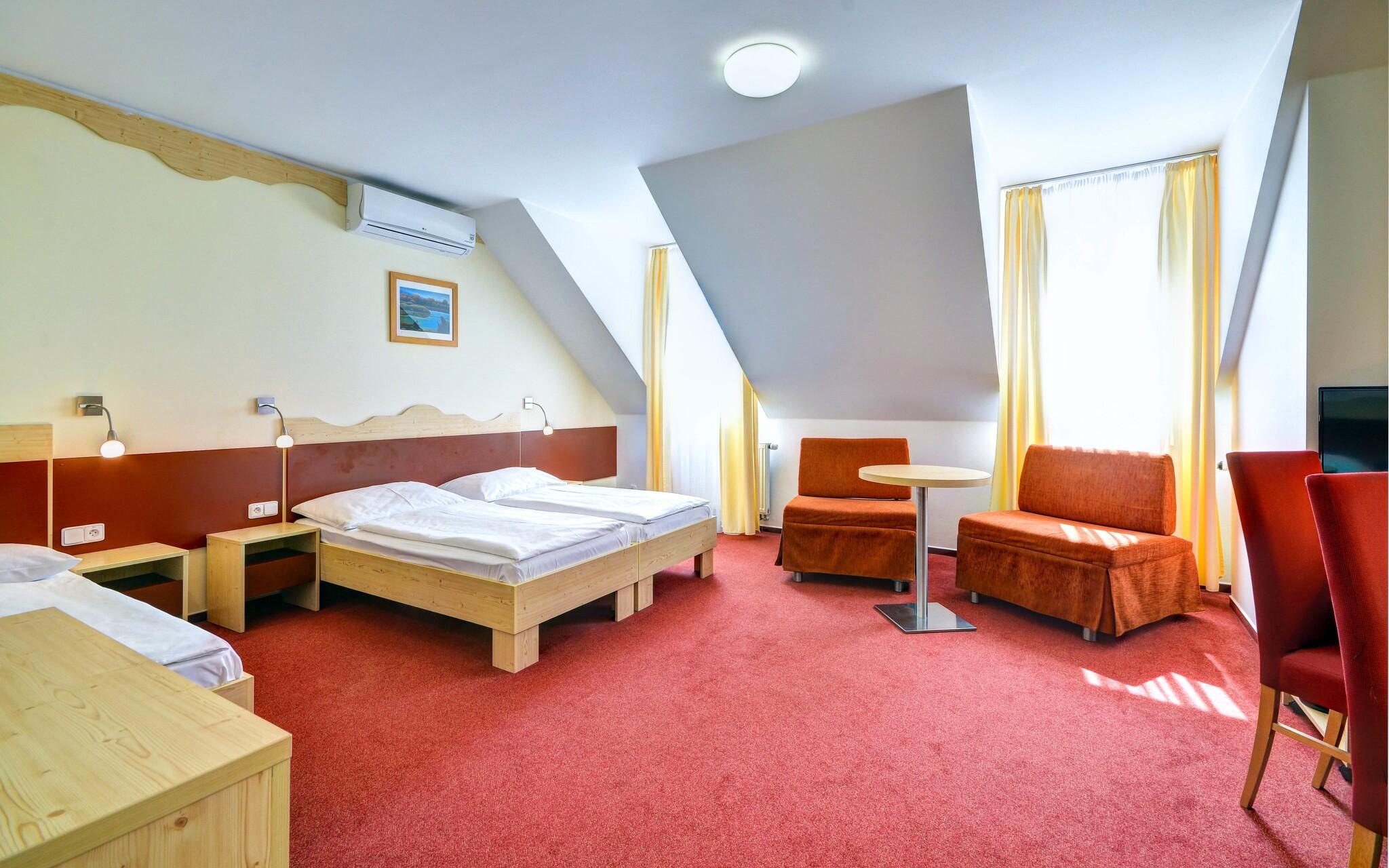 Komfortní pokoje, Wellness Hotel Iris ***