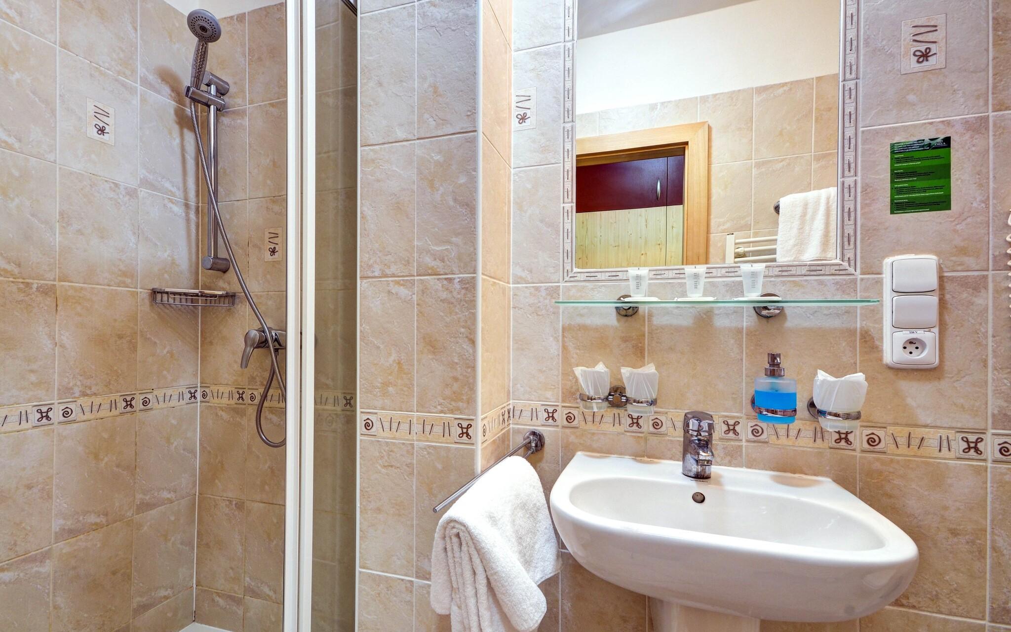 Komfortní pokoje s vlastní koupelnou, Wellness Hotel Iris