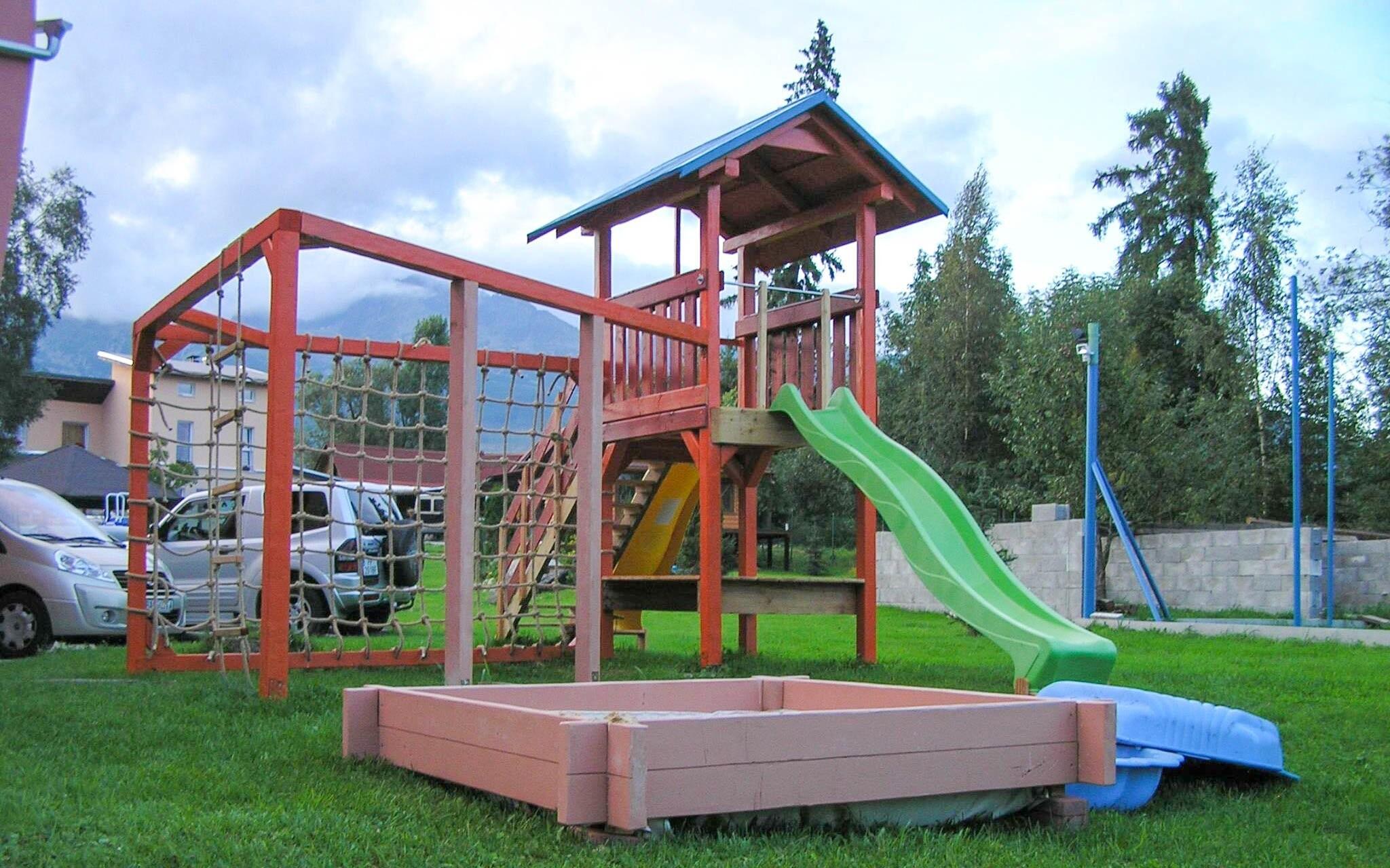 Detské ihrisko, Penzión Monty Ranch, Vysoké Tatry