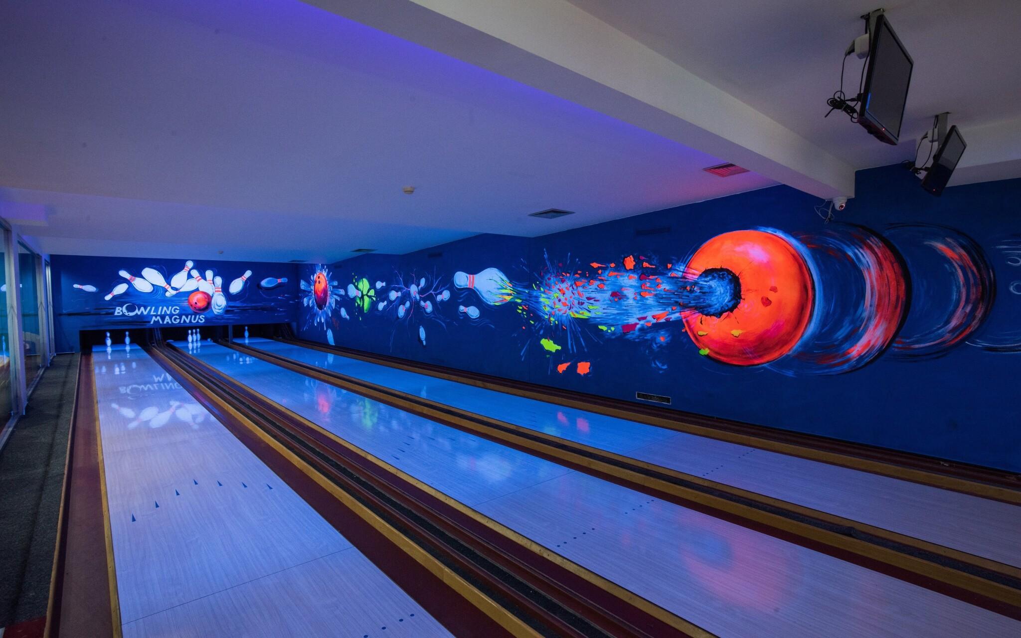 Pobyt si spestrite zábavou pri bowlingu, Hotel Magnus