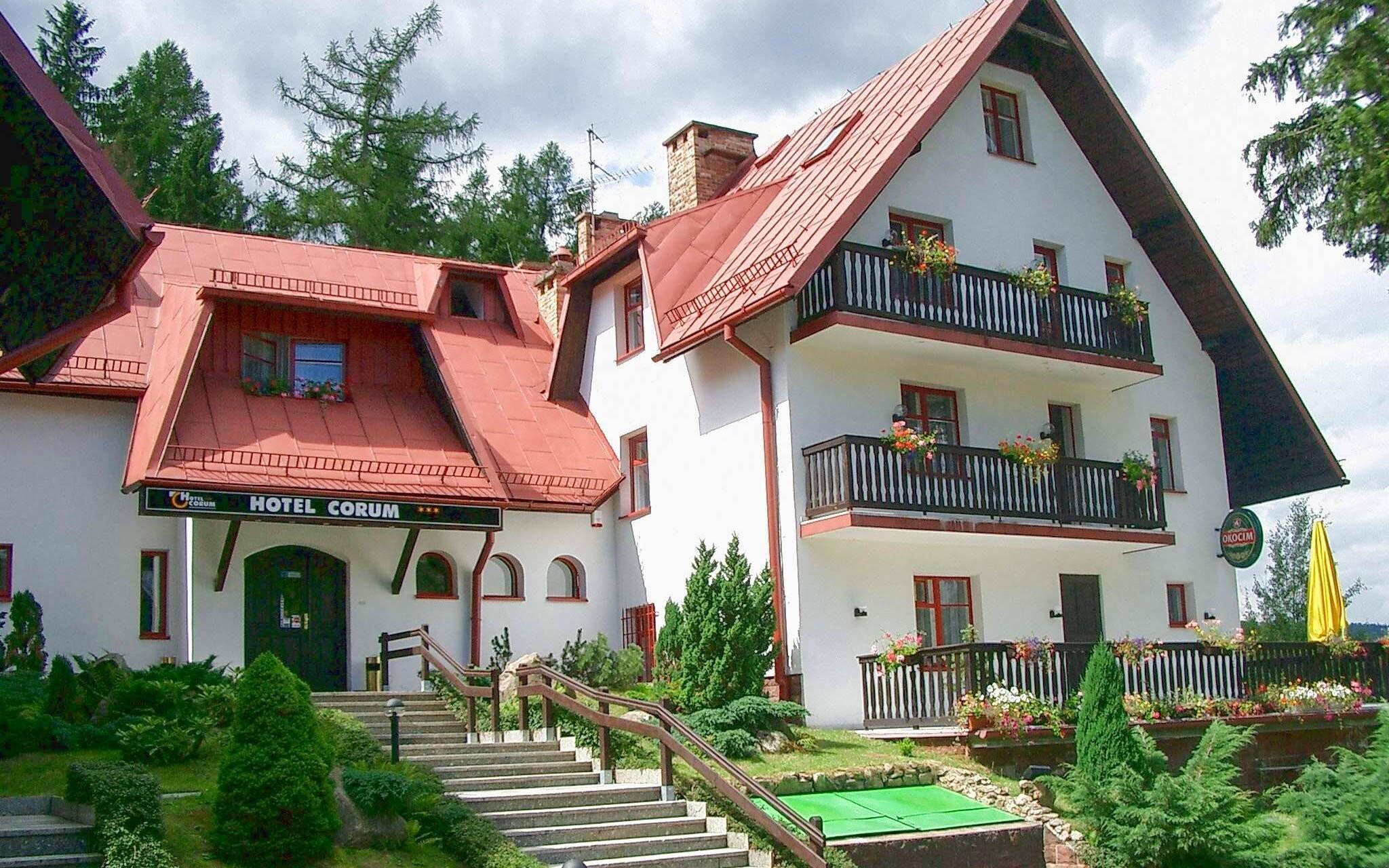 Hotel Corum *** Karpacz, poľské Krkonoše