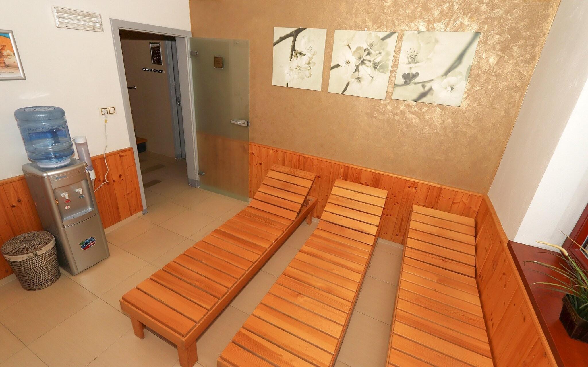Wellness centrum, relaxační část, Hotel Corona, jižní Čechy