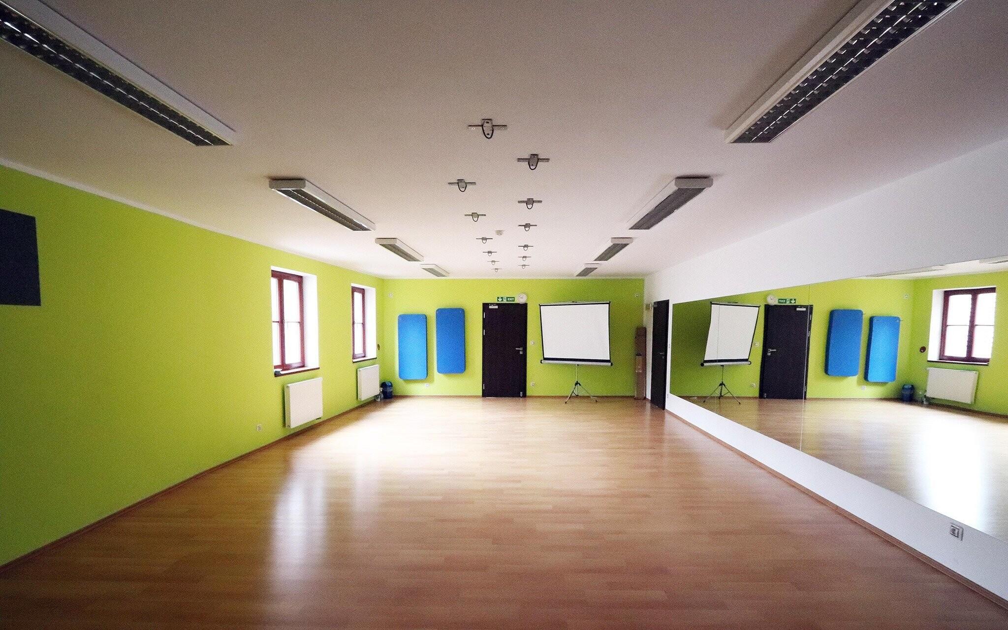 Fitness centrum, posilovna, Hotel Korona, jižní Čechy