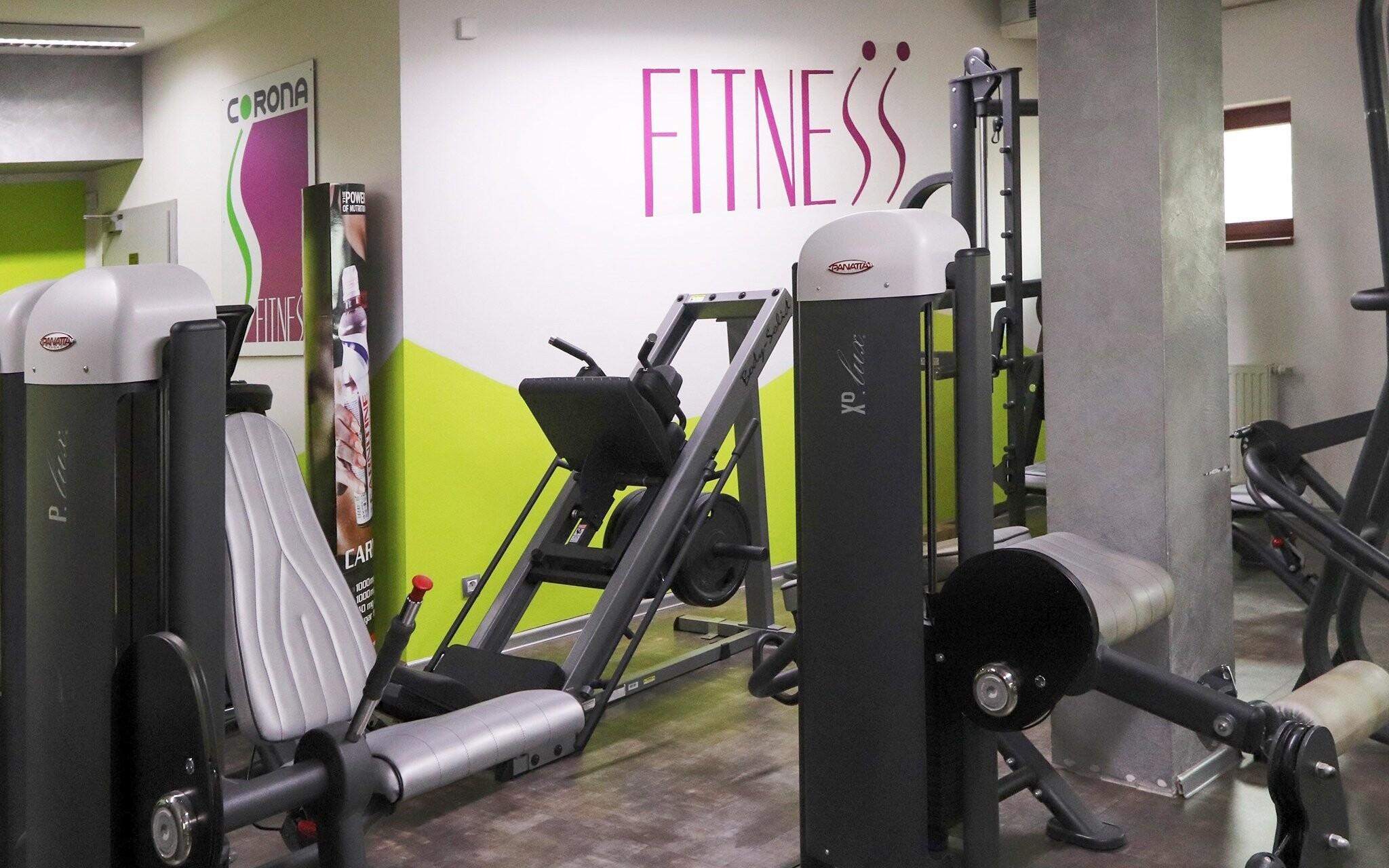 Fitness centrum, posilovna, Hotel Corona, jižní Čechy