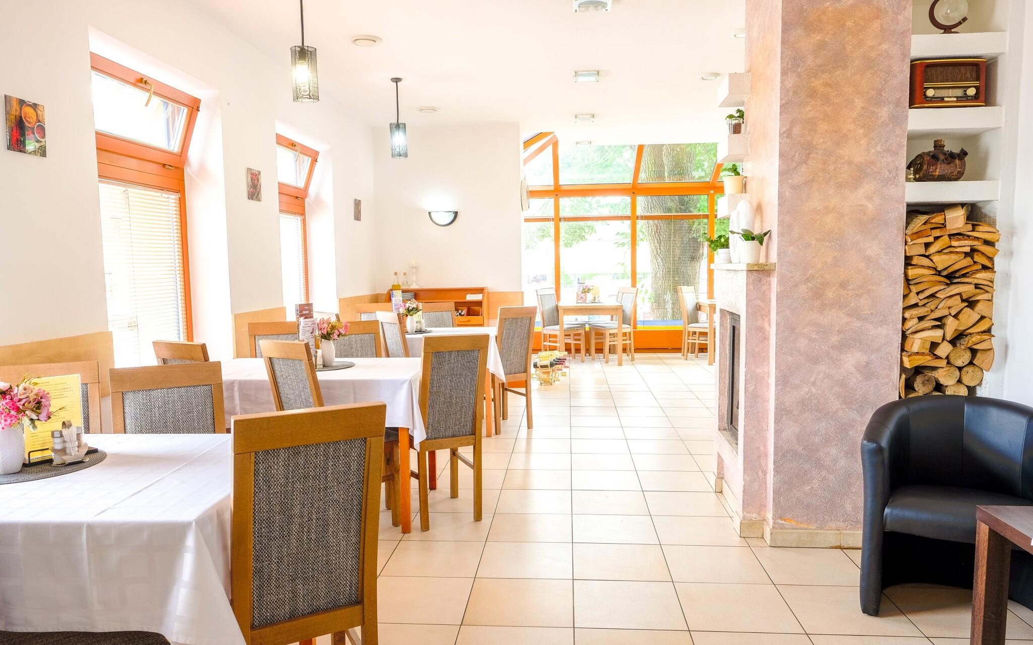 Reštaurácia Penziónu Kamenec, kde sa podáva polpenzia