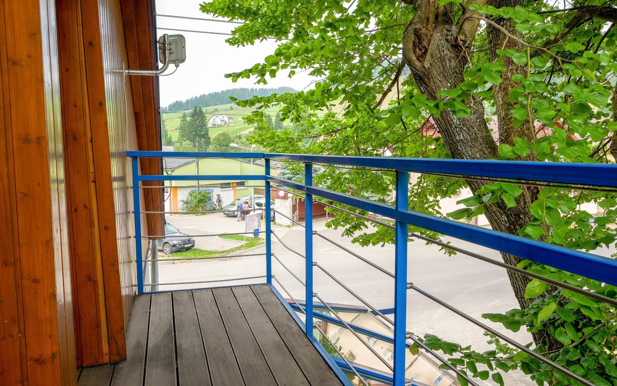Z niektorých izieb môžete vyjsť na balkón